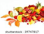 fresh fruits | Shutterstock . vector #39747817