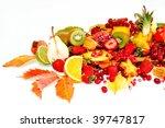 fresh fruits   Shutterstock . vector #39747817