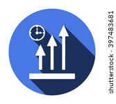 business graph  icon   isolated....   Shutterstock .eps vector #397483681