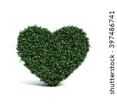 3d Rendering Of Buxus Heart