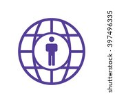 people   icon   isolated. flat  ... | Shutterstock .eps vector #397496335