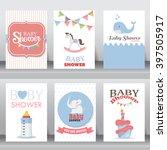 happy birthday  holiday  baby... | Shutterstock .eps vector #397505917