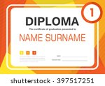 Orange Yellow A4 Diploma...