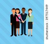 teamwork concept design    Shutterstock .eps vector #397517449