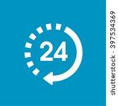 24 7 icon | Shutterstock .eps vector #397534369