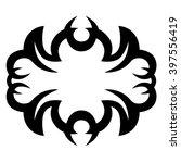 vector tribal tattoo designs.... | Shutterstock .eps vector #397556419
