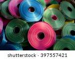 spools of color ribbon | Shutterstock . vector #397557421