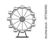 ferris wheel | Shutterstock .eps vector #397560481