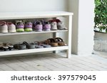 Outdoor Shoe Rack And 8 Pairs...