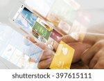 business  technology  mass... | Shutterstock . vector #397615111