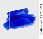 logo art paint template.... | Shutterstock .eps vector #397618234