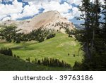 Beartooth Butte Viewed From...