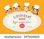 kids cooking class certificate... | Shutterstock .eps vector #397634065