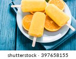 tasty refreshing summer treat ... | Shutterstock . vector #397658155