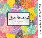 Colorful Flowers Postcard....