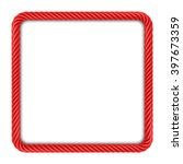 Square Frame Made Up   Of Red...
