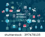 internet of things  iot ... | Shutterstock .eps vector #397678135