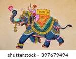 traditional indian or... | Shutterstock . vector #397679494