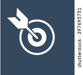 goal icon  | Shutterstock .eps vector #397695751
