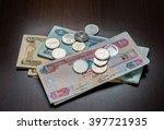assorted uae dirham currency... | Shutterstock . vector #397721935
