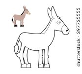 donkey coloring book circuit