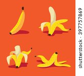 Banana Icon Collection. Eps 10...