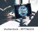 cyber attack hacker phishing... | Shutterstock . vector #397766131