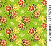 abstract vector illustration of ... | Shutterstock .eps vector #397767565