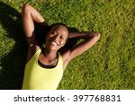 portrait of a smiling young... | Shutterstock . vector #397768831
