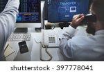 transfer files data system... | Shutterstock . vector #397778041