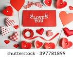 Valentine Concept. Inscription...