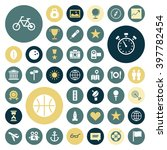 flat design icons for travel ...