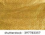 gold paper texture or... | Shutterstock . vector #397783357