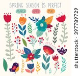 beautiful vector collection... | Shutterstock .eps vector #397789729