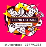 vector illustration of colorful ... | Shutterstock .eps vector #397791385