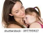 mother and daughter love each... | Shutterstock . vector #397795927