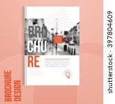 vector brochure cover template...   Shutterstock .eps vector #397804609