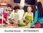 cooking class  culinary  food... | Shutterstock . vector #397840825