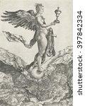 nemesis  by albrecht durer ... | Shutterstock . vector #397842334