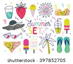 all for summer holidays.... | Shutterstock .eps vector #397852705