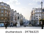 View Of Charing Cross In Londo...