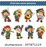 find two same pictures ... | Shutterstock .eps vector #397871119