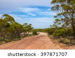 Australian Dirt Road Outback...