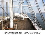 Deck  Mast And Rigg Of An Old...