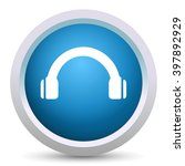headphone icon | Shutterstock .eps vector #397892929