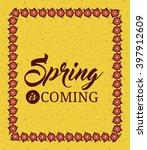 hello spring design    Shutterstock .eps vector #397912609