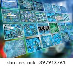 many abstract images on the... | Shutterstock . vector #397913761