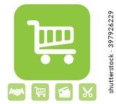 vector shopping cart icon | Shutterstock .eps vector #397926229