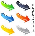 arrow icon | Shutterstock .eps vector #397969921