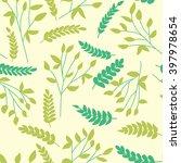 floral vector pattern. seamless ...   Shutterstock .eps vector #397978654